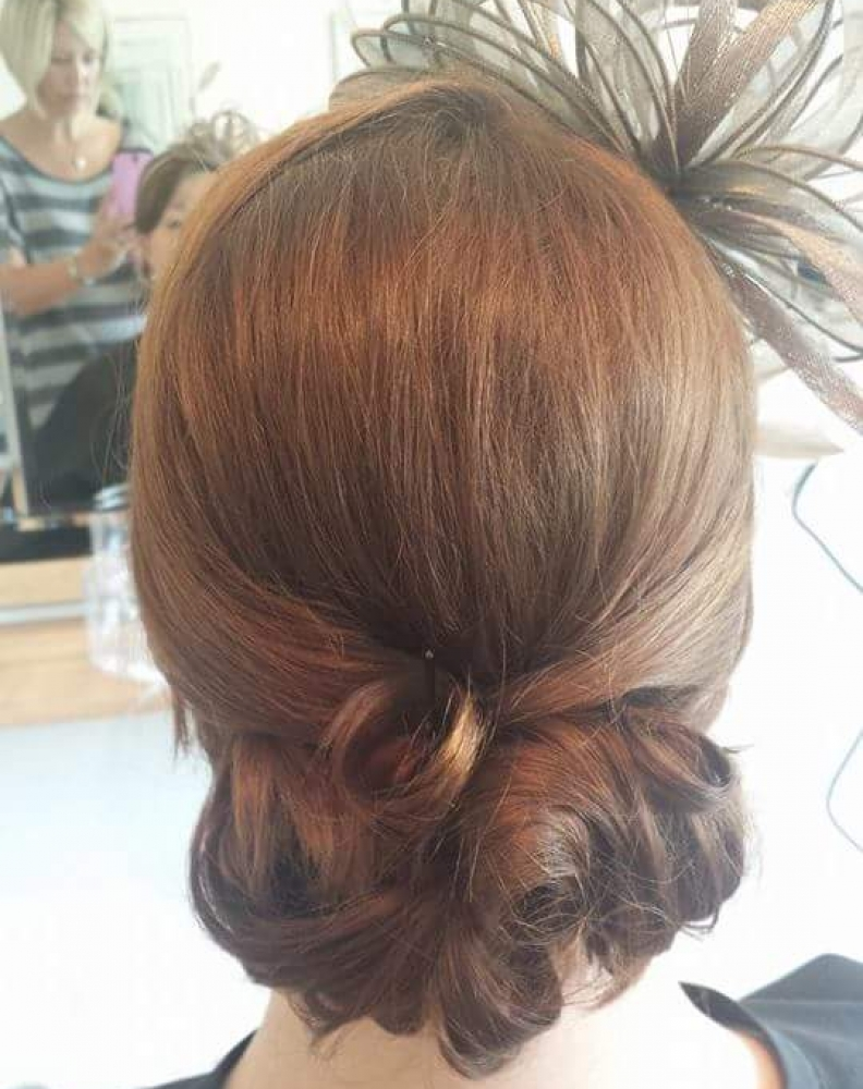 Hair up please